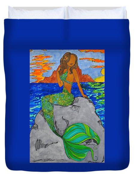 Mermaid Duvet Cover by Diamin Nicole