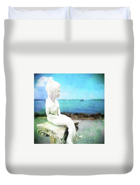 Mermaid Lisa Duvet Cover
