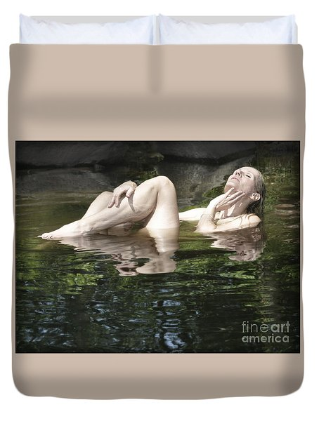 Mermaid Duvet Cover by Marat Essex