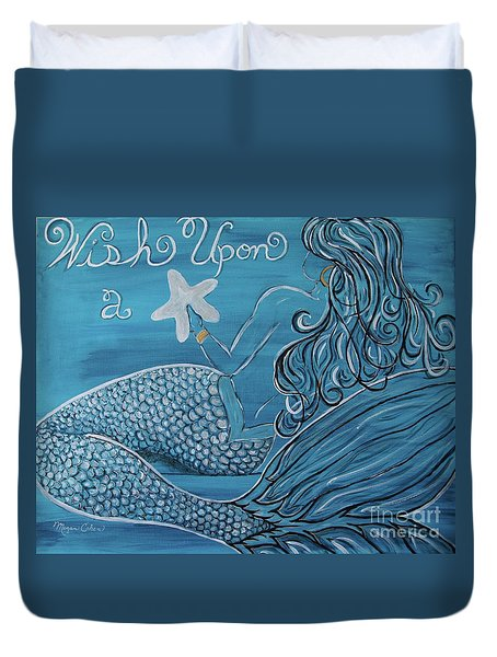 Mermaid- Wish Upon A Starfish Duvet Cover