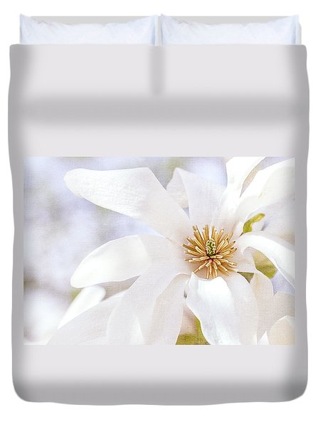 Merrill Magnolia Bloom Duvet Cover