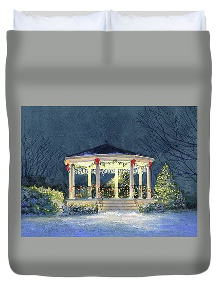 Merry And  Bright II Duvet Cover