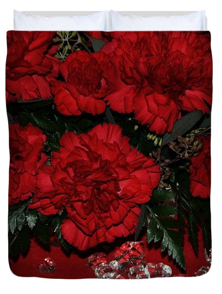 Merry Christmas Duvet Cover by Kathleen Struckle