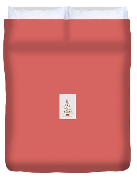 Merry Christmas Tree Duvet Cover
