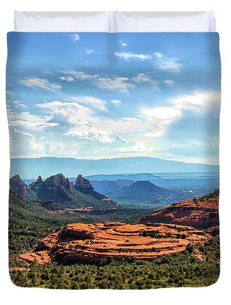 Merry Go Round Arch, Sedona, Arizona Duvet Cover
