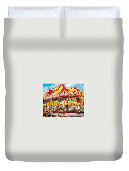 Merry-go-round Duvet Cover