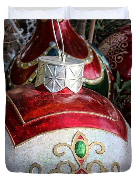 Merry Joyful Christmas Duvet Cover