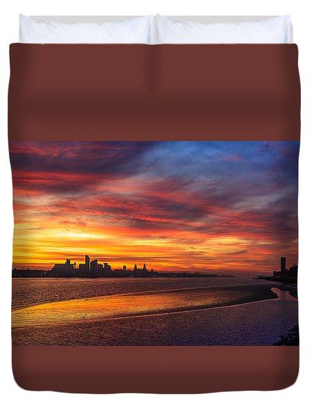 Mersey Sunrise Duvet Cover