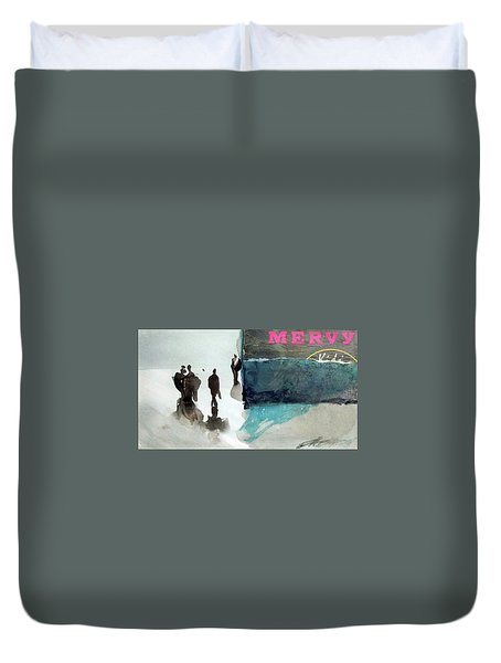 Mervy Duvet Cover by Ed Heaton