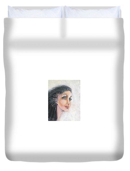Meryl Duvet Cover