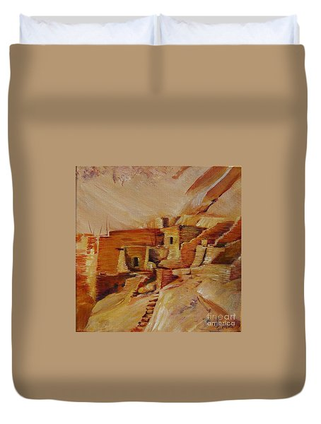 Mesa Verde Duvet Cover by Summer Celeste