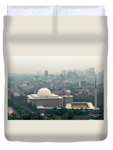 Mesjid Istiqlal Duvet Cover
