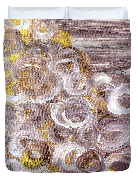Mesmeric Daydream Duvet Cover by Rachel Hannah