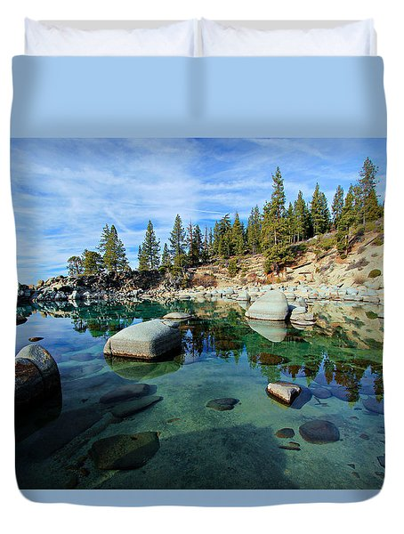 Mesmerized Duvet Cover by Sean Sarsfield