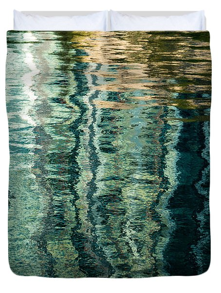 Mesmerizing Abstract Reflections Two Duvet Cover