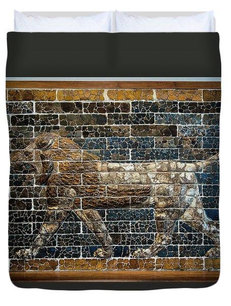 Mesopotamian Lion Duvet Cover