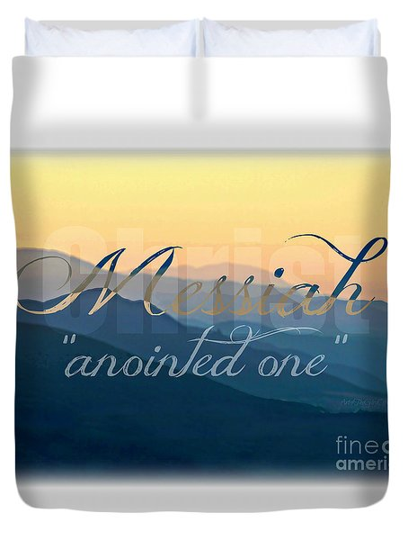 Messiah  Duvet Cover