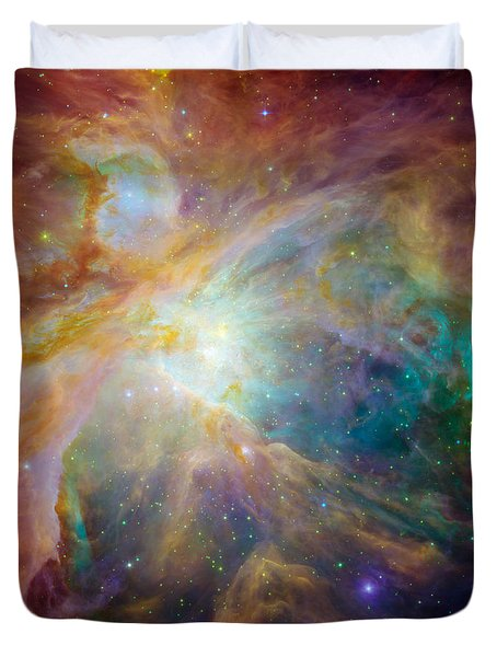 Messier 42 Orion Nebula Duvet Cover