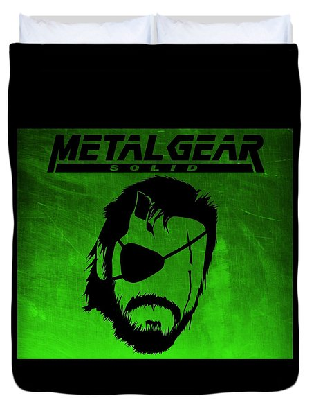 Metal Gear Solid Duvet Cover by Kyle West