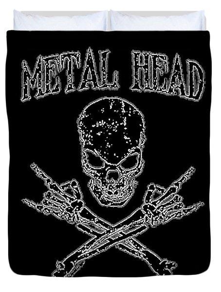 Metal Head Duvet Cover
