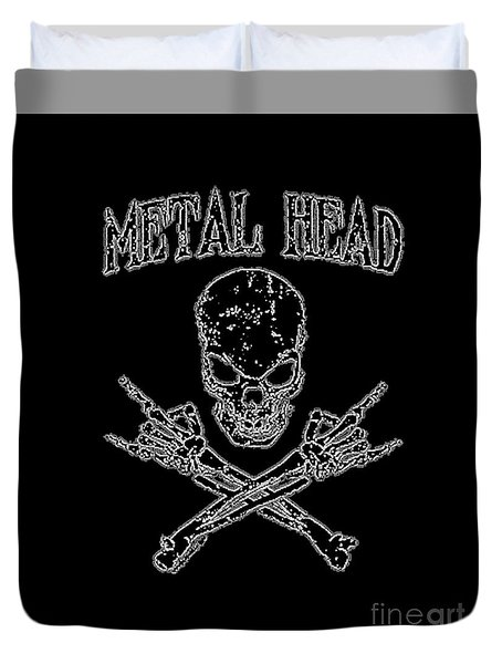 Metal Head Duvet Cover