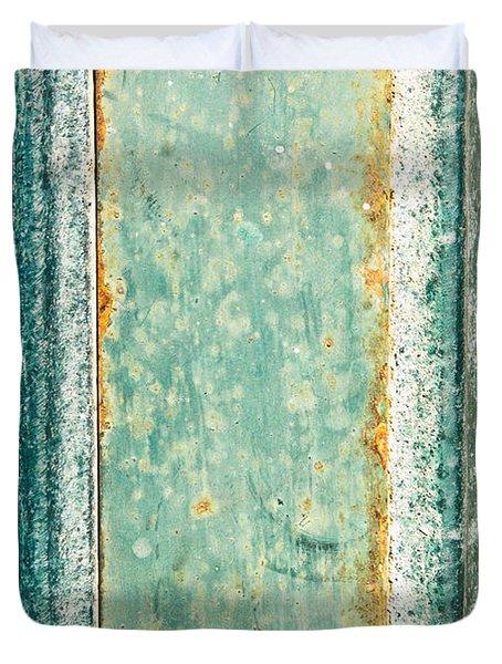 Metal Plate Duvet Cover