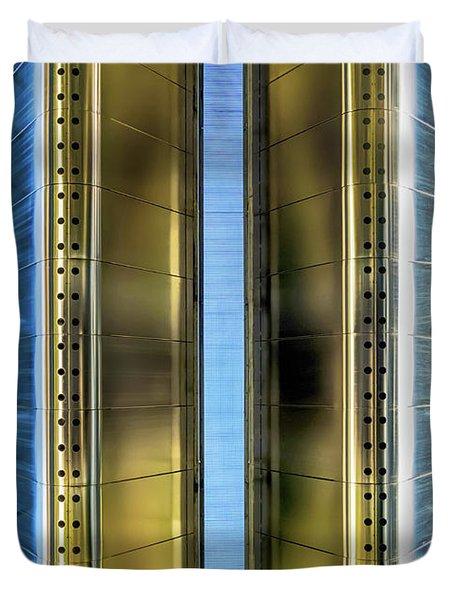 Metallic Duvet Cover by Wim Lanclus