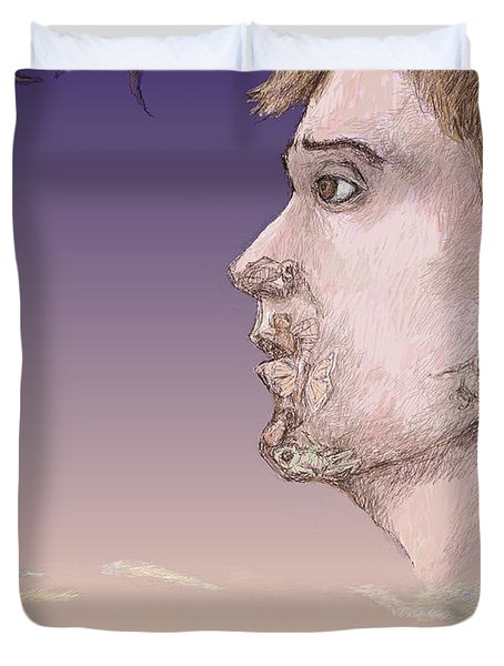 Metamorphosed Duvet Cover