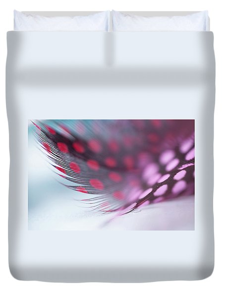 Duvet Cover featuring the photograph Metamorphoses. Angel Flight Series  by Jenny Rainbow