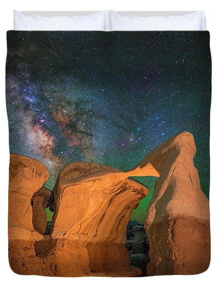 Metate Arch Duvet Cover