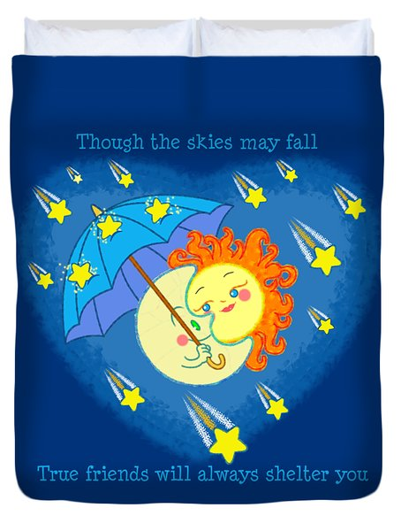Meteor Shower 3 Duvet Cover by J L Meadows