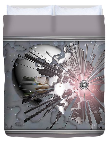 ' Meteors Might ' Duvet Cover