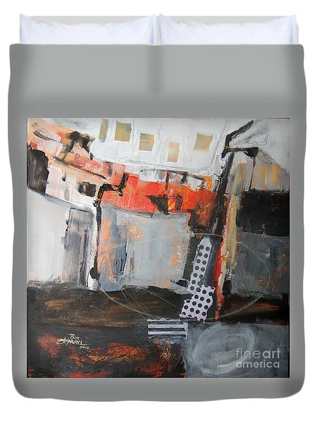 Metro Abstract Duvet Cover