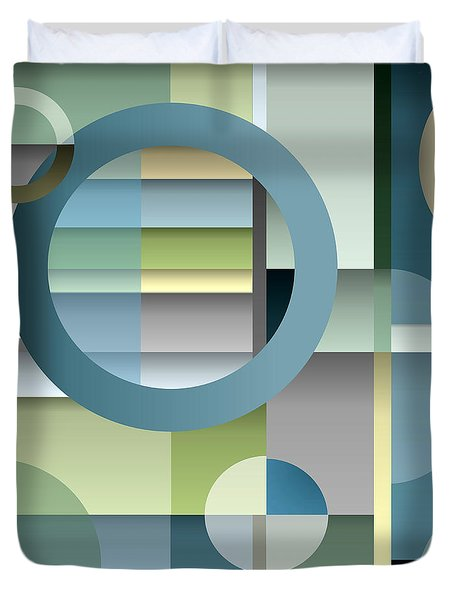 Metro Duvet Cover by Tara Hutton