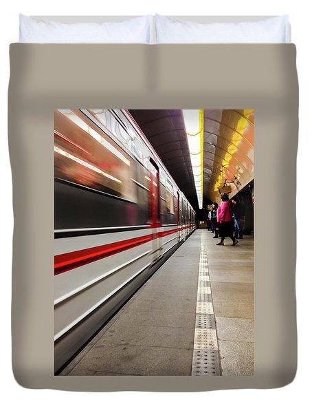 Metroland Duvet Cover