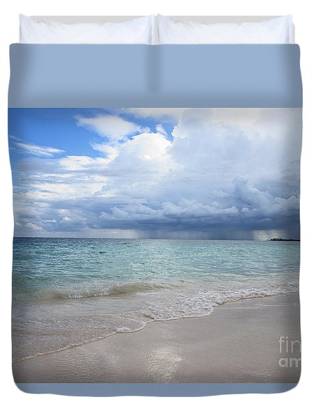 Mexican Coast Duvet Cover by Yuri Santin