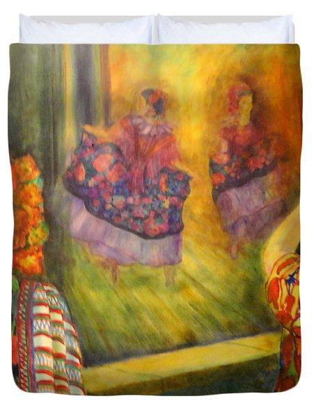 Mexican Festival Duvet Cover