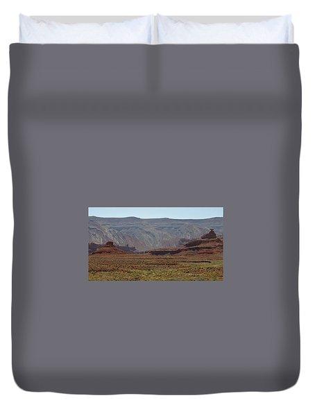 Mexican Hat Rock Duvet Cover