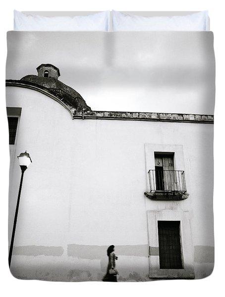 Mexican Twilight Duvet Cover by Shaun Higson