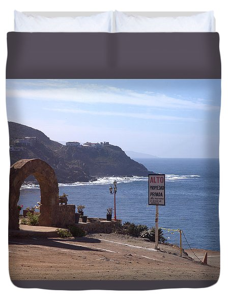 Mexico Duvet Cover