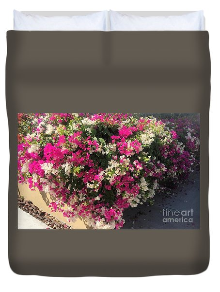 Duvet Cover featuring the photograph Mexico Memories 4 by Victor K