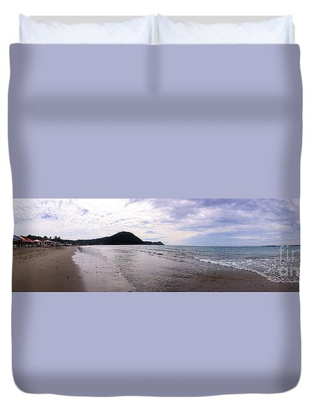 Duvet Cover featuring the photograph Mexico Memories 7 by Victor K