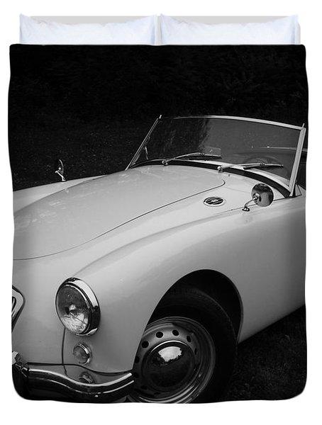 Mg - Morris Garages Duvet Cover by Juergen Weiss