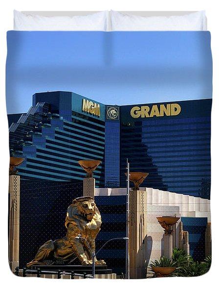 Mgm Grand Hotel Casino Duvet Cover
