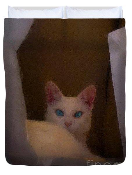 Mi Gato Duvet Cover