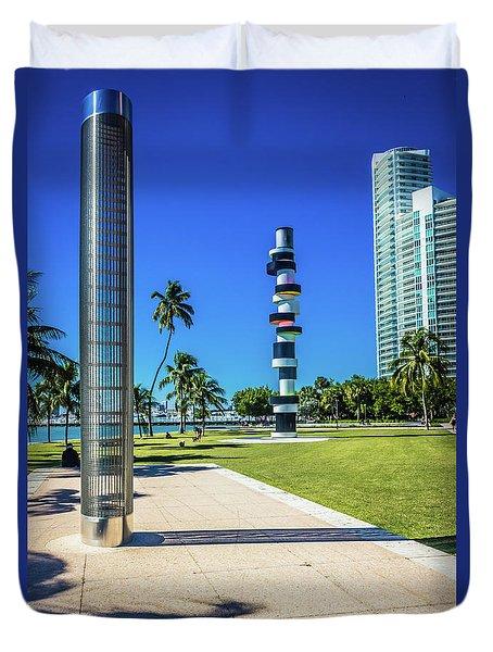 Miami Beach Series 4497 Duvet Cover