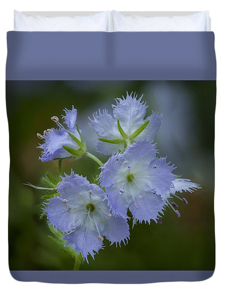 Miami Mist Bloom Duvet Cover