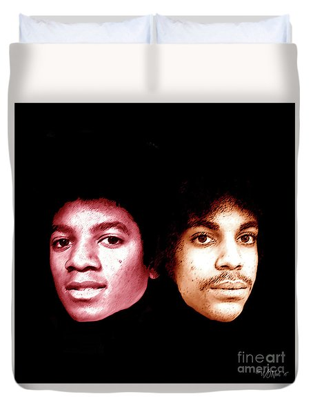 Michael And Prince In One Duvet Cover