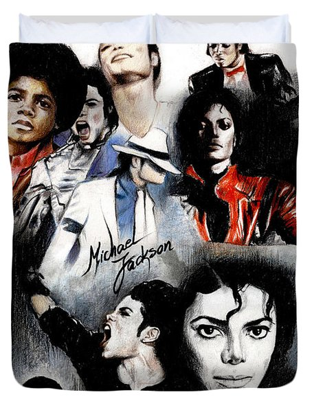 Michael Jackson - King Of Pop Duvet Cover
