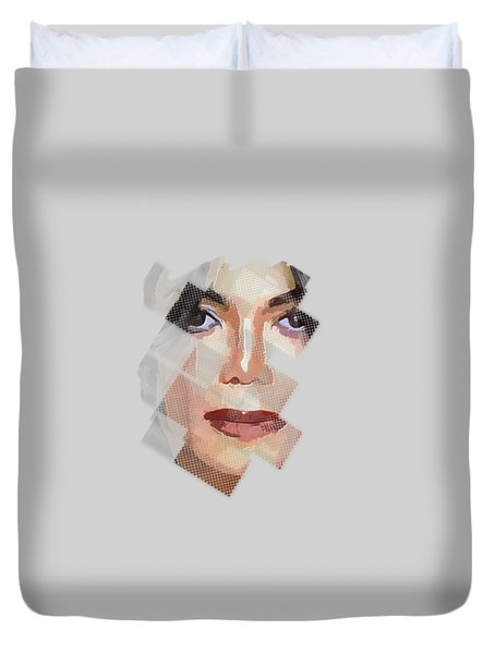 Michael Jackson T Shirt Edition  Duvet Cover